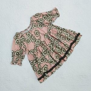 Matilda Jane floral pink dress. Size 2